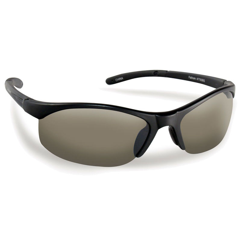 Bristol Sunglasses 7793BS - Black Frame, Smoke Lenses