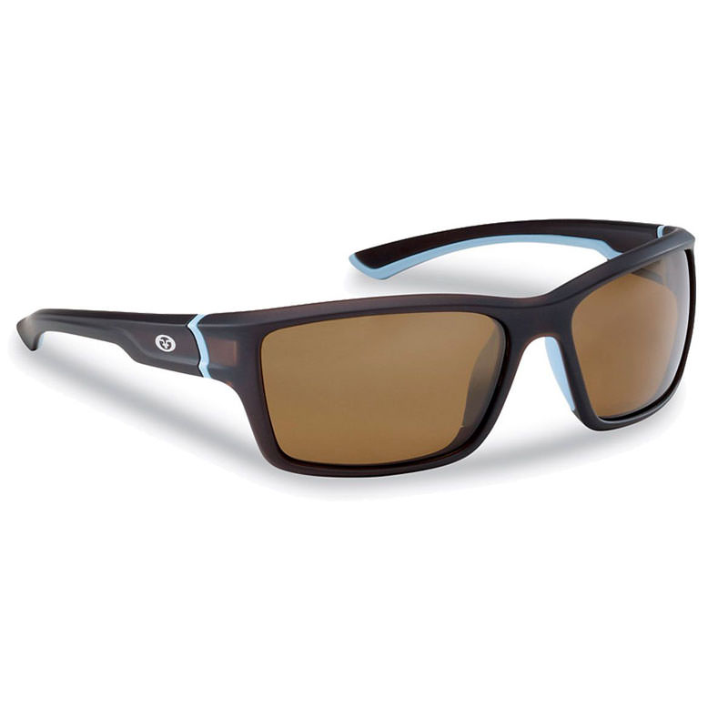 Cove Sunglasses 7721TA - Matte Crystal Tobacco Frame, Amber Lenses