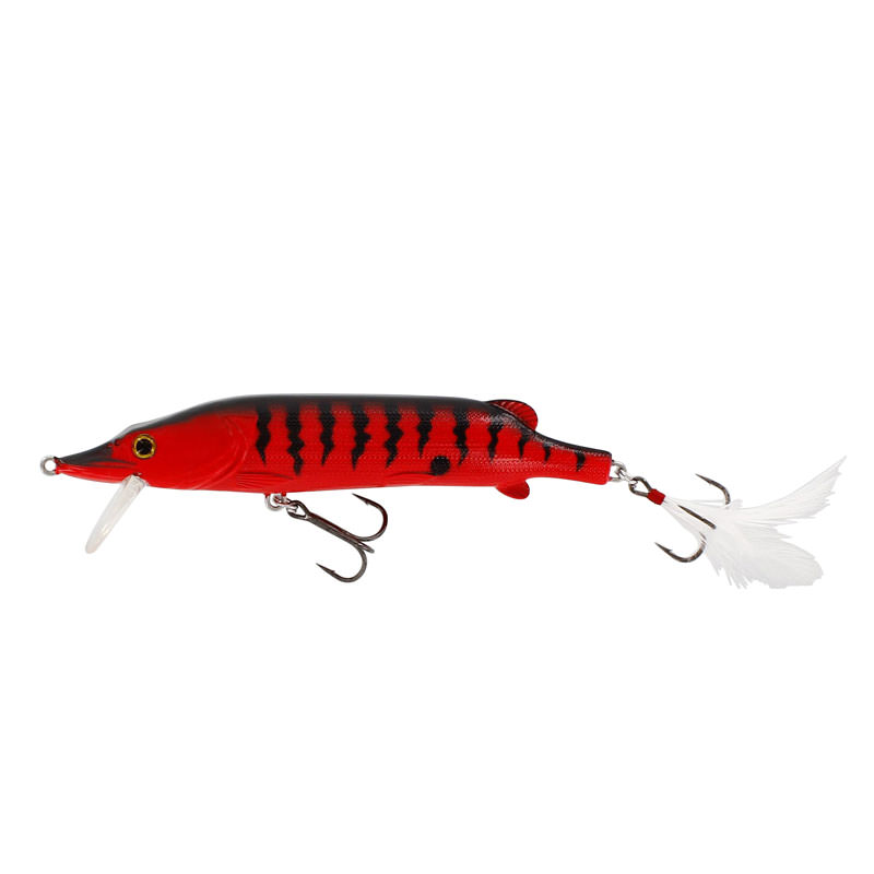 Westin Mike The Pike (140mm Hard Body) - Red Tiger Colour
