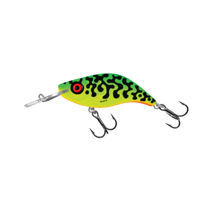 Salmo Sparky Shad - Green Tiger (GT) Colour